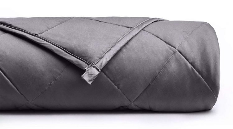 YnM Weighted Blanket Rolled