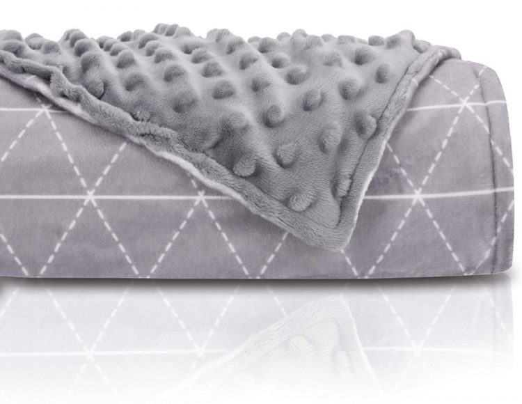 Rocabi Weighted Blanket Folded