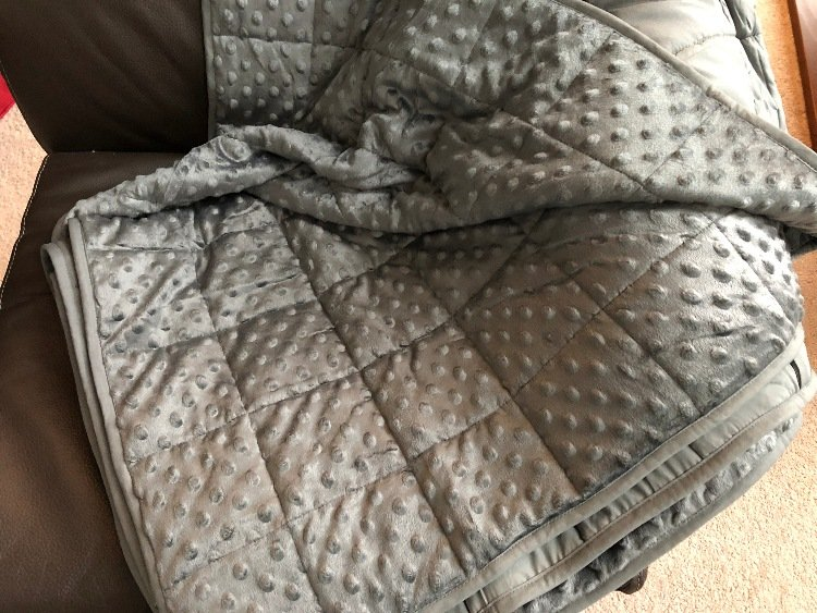 babo weighted blanket (minky side)